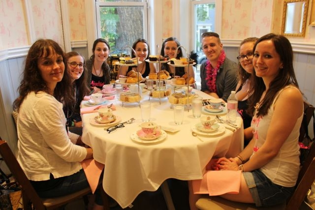 Tea Time at Lady Camelias Happy Potter Scavenger Hunt