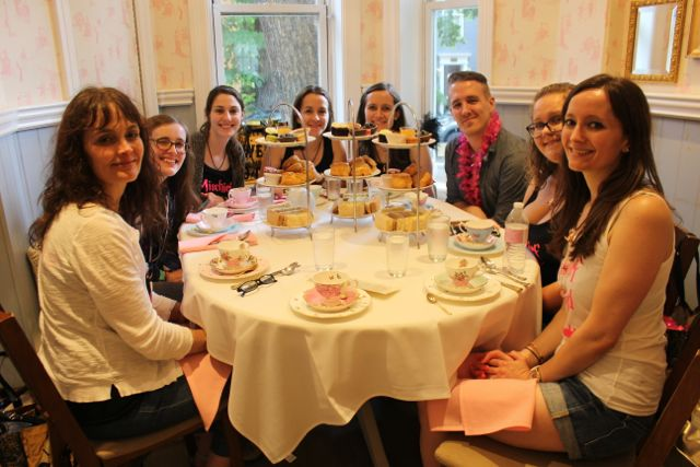 Tea Time at Lady Camelias Happy Potter Scavenger Hunt