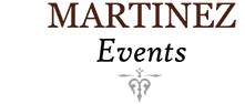 Martinez Events Logo